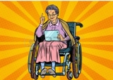 cuidadora para personas mayores discapac - foto