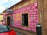 pintor de graffitis arte murales - foto