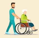 Cuidado ancianos e tareas domesticas - foto