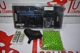 Rifle paintball WPG con cargador y bolas - foto