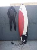 TABLA DE SURF Y NEOPRENO - foto