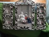 Cuadro triptico para 5 fotos - foto