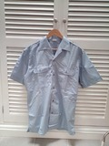 Camisa azul manga corta Bripac - foto