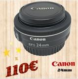 objetivo canon 24mm - foto