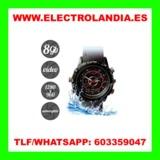 WQ  Reloj Acuatico Mini Camara Oculta HD - foto