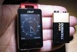 El teléfono más pequeño del mundo - foto