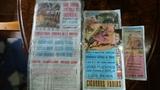 3 carteles antiguos - foto