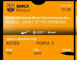 2x Barça Euroleague 30/1 21h  OFERTA 50% - foto