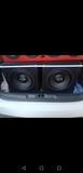 subwoofers con cajon mas amplificador - foto