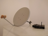 Antena satelite con decodificador atlas - foto