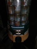 Expendedora de latas frutos secos - foto