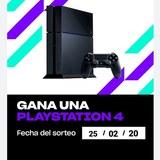 Sorteo PlayStation 4 - foto