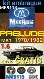 Honda prelude mk1 1.6 kit embrague - foto