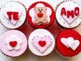 Tartas y cupcakes  san valentin - foto