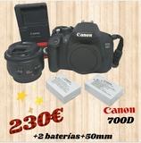 camara réflex canon 700D - foto