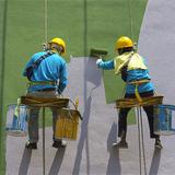 Pintores de fachadas - foto