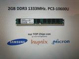2 tarjetas de memoria ddr3 2gb nuevas - foto