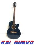 Guitarra electroacustica stagg - foto