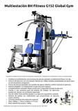 Multiestación BH Fitness G152 Global Gym - foto