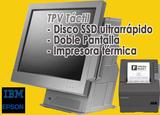 IBM TPV táctil SSD e Impresora EPSON - foto
