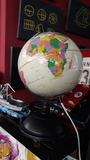 lámpara bola Mapa mundi. 20 cm diámetro - foto