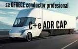 SE OFRECE CONDUCTOR PROFESIONAL C+E ADR - foto