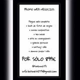 Promo diseÑo web-negocios - foto