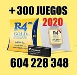 Tarjeta R4 GOLD 2020+300 Juegos| - foto