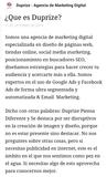 DUPRIZE AGENCIA DE MARKETING DIGITAL - foto
