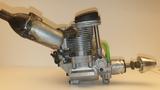 Motor YS FZ-110 NITRO 4 tiempos - foto