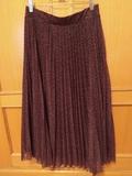 Falda larga plisada talla L - foto