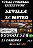 VIGAS DECORATIVAS EN SEVILLA 655681574 - foto