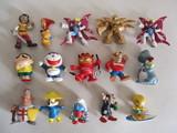 15 antiguos muñequitos diferentes. - foto