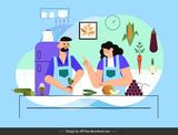 cocina a domicilio -  home cooking - foto