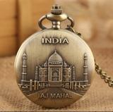 Reloj de bolsillo India TAJ MAHAL - foto