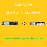 CLONAR   DISCO    M.2 SSD   a   M.2 NVME - foto
