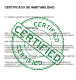 CERTIFICADO HABITABILIDAD JAVEA - foto