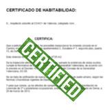 CERTIFICADO HABITABILIDAD DENIA 24 H - foto