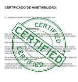 CERTIFICADO HABITABILIDAD ONDARA 24 H - foto