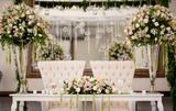 Decoraciones florales para bodas - foto