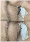 Pestañas pelo a pelo y volumen ruso - foto