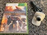 juego transformers y camara para xbo360 - foto