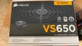 Fuente de poder Corsair VS 650 W Certif - foto