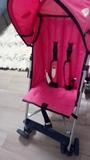 silla de paseo rosa - foto