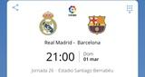 Abonos Real madrid vs Barsa - foto