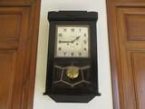 antiguo reloj pared,a.casanellas,tárrega - foto