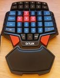 Teclado Gaming Delux T9 1 mano - foto