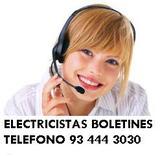 electricista dia y noches  93 444 7O7O - foto