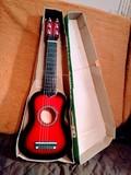 Guitarra niños madera - foto