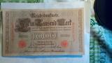 Billete antiguo alemán - foto